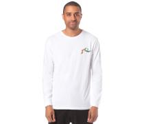 Ripple - Langarmshirt - Weiß