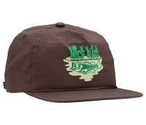 The Field Snapback Cap - Braun
