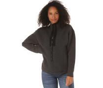 Aralia Quilted Crew - Sweatshirt - Grau
