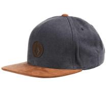 Quarter Fabric - Snapback Cap - Blau