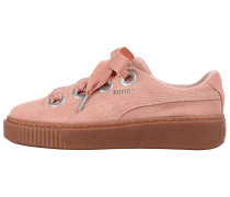 Platform Kiss Suede - Sneaker - Pink