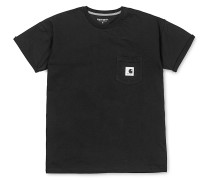 Carrie Pocket - T-Shirt - Schwarz
