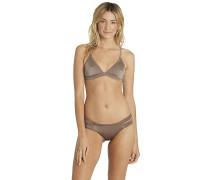 Summer Shine Triangle - Bikini Oberteil - Grau