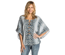 Skies Above Cover Up - Bluse - Blau