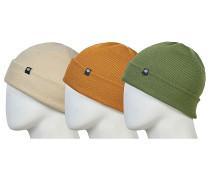 Standard Roll Up 3 Pack Mütze - Mehrfarbig