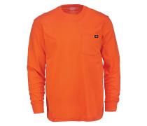 Pocket - Langarmshirt - Orange