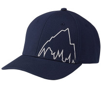 Mountain Slidestyle Flexfit Cap - Blau