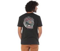 Whale Sunset - T-Shirt - Schwarz