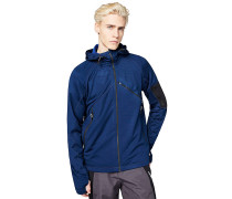 Powerstretch - Fleecejacke - Blau