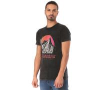NOWhere Mineral Wash - T-Shirt - Schwarz