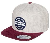 Firm Chowder - Snapback Cap - Grau