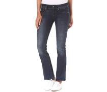 Midge Saddle Mid Skinny Bootcut Neutro Stretch - Jeans