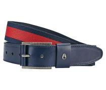 Americana Stripe - Gürtel - Blau