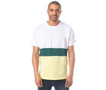 Colorblock Stripe - T-Shirt - Mehrfarbig