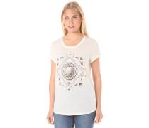 Diamond Floral - T-Shirt - Weiß