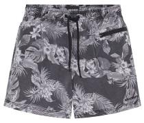 Badehose Used-Look - Boardshorts - Mehrfarbig