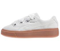 Platform Kiss Suede - Sneaker - Grau