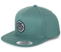 Rubber Soul - Snapback Cap - Grün