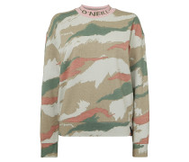 Catalpa Aop Camo Crew - Sweatshirt