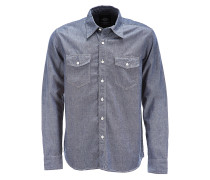 Hallstead - Hemd - Blau