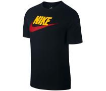 Icon Futura - T-Shirt - Schwarz