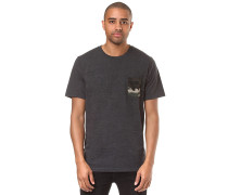 50-Camo Pocket - T-Shirt - Schwarz