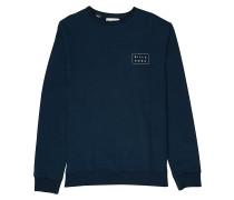 Die Cut Theme Crew - Sweatshirt - Blau