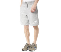 Essentials Stacked Logo - Shorts - Grau
