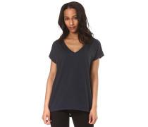 Dreamers V-Neck - T-Shirt - Blau