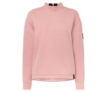 Aralia Quilted Crew - Sweatshirt - Pink