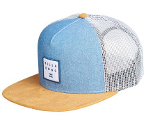 Stacked - Trucker Cap - Blau