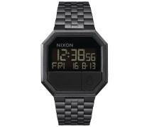 Re-Run - Uhr - Schwarz