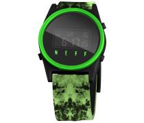Daily Digital Uhr - Grün