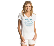 Sea Is Calling - T-Shirt - Weiß