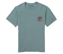 Grassfed - T-Shirt - Blau