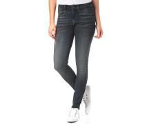 3301 Deconst Mid Skinny - Jeans - Blau