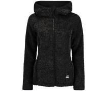 Kinetic Outdoor Fleece - Kapuzenjacke - Schwarz