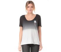 Trajectory Wash Varsity - T-Shirt - Schwarz