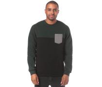 Block Pocket Crew - Sweatshirt - Grün