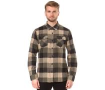 Box Flannel - Hemd - Beige
