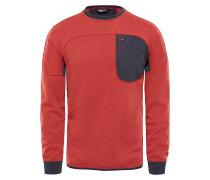 Mountain Slacker Crew - Sweatshirt - Rot