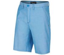 Oxford - Shorts - Blau