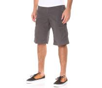 Regular Cargo Shorts - Grau
