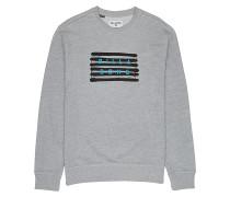 Spray Die Cut Crew - Sweatshirt - Grau