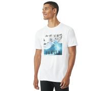 SWC-Palm Waves - T-Shirt - Weiß