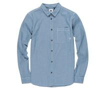 Preston L/S - Hemd - Blau