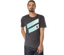 Icon Slash Gradient - T-Shirt - Schwarz