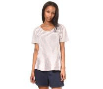 Just Simple Stripes - T-Shirt - Beige