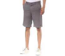 Delta - Chino Shorts - Grau