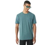 50- Solid Pocket - T-Shirt - Grün